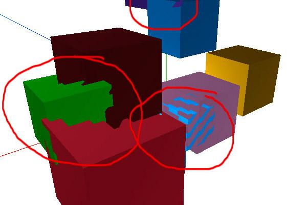 Three.js: артефакты и глубина z-буфера при рендере сцены